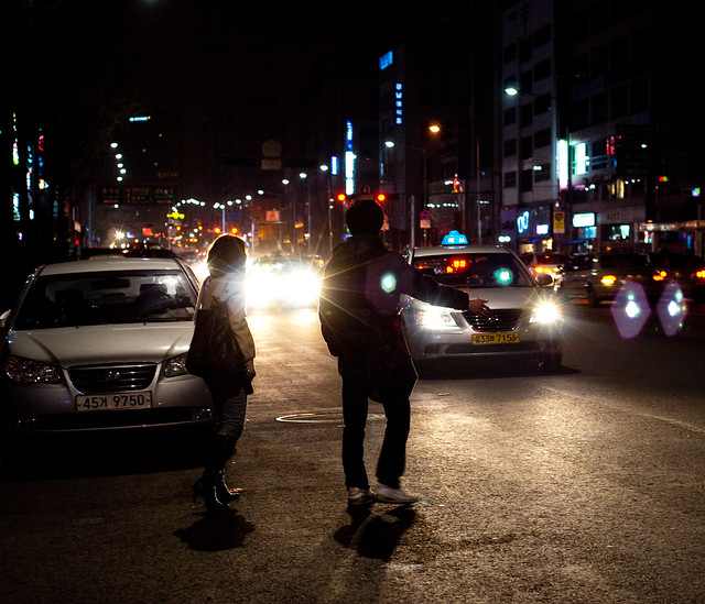 cab catching