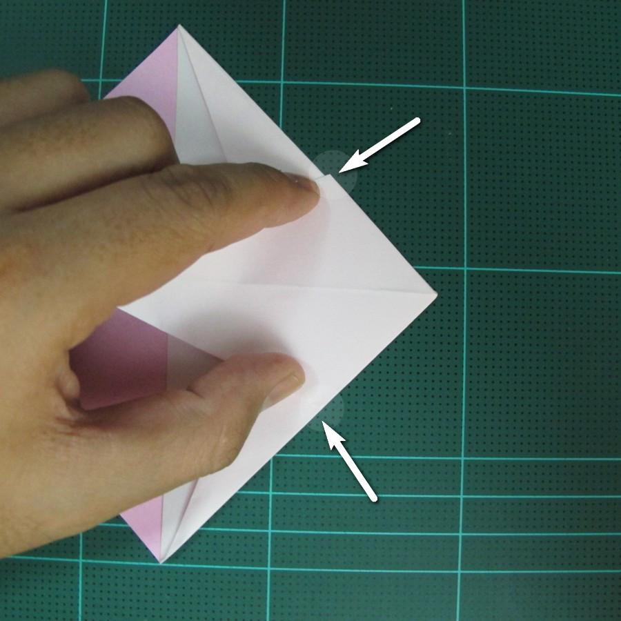 วิธีพับกระดาษเป็นรูปเครื่องบินแบบบินไกล (SST Origami Airplane) 009