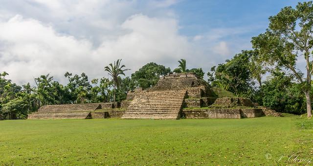 Mayan Ruins at Altun Ha in Belize