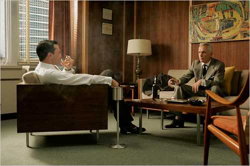 Mad Men set design: The furniture in Don Draper's office | by SarahKaron