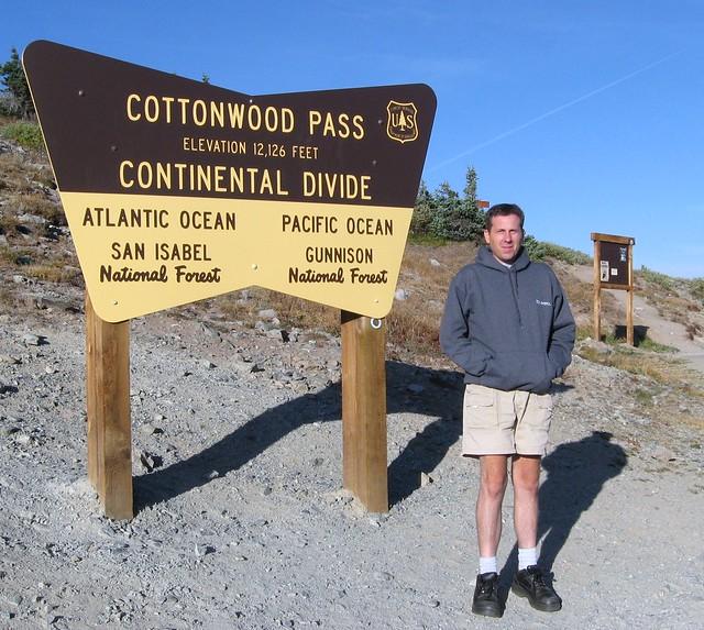 Roman at Cottonwood Pass