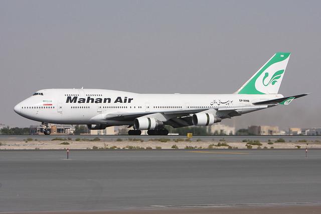 Mahan Air   B747-422   EP-MNB