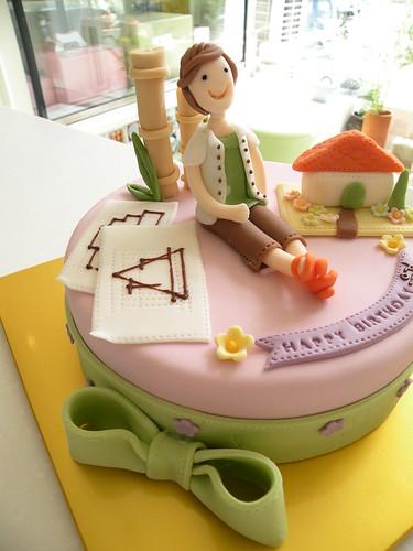 BCG Architect's Birthday Cake | by Cake Girl by Hyeyoung Kim