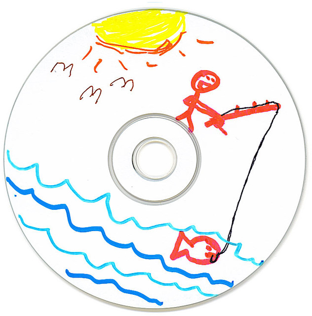 man fishing fish