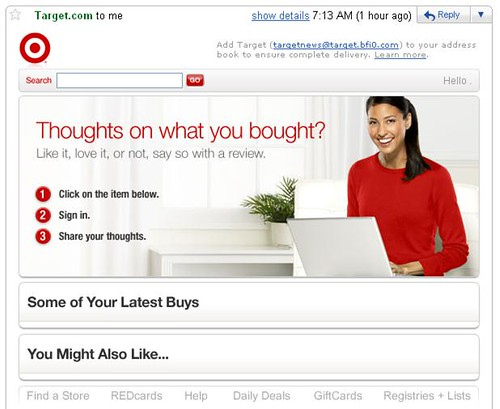 target email FAIL   by udandi