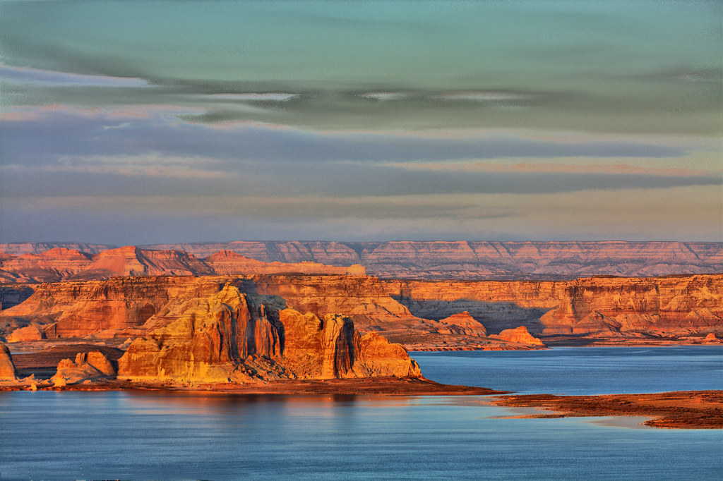 Image result for wahweap overlook sunset""