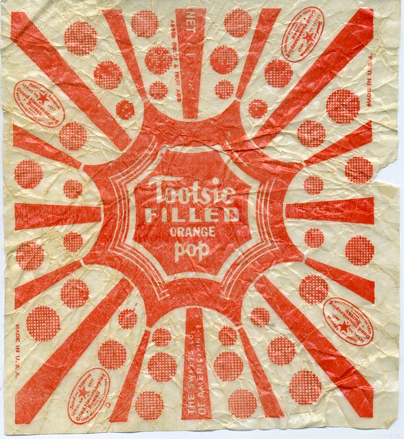 Tootsie Pop Wrapper 1940s Dan Goodsell Flickr