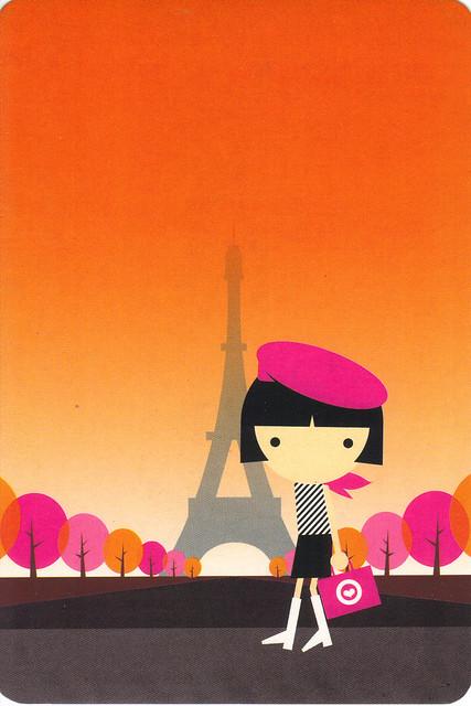 Bon Bon In Paris Postcard
