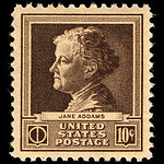 Jane Addams Stamp