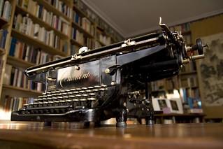 Continental typewriter   by shordzi