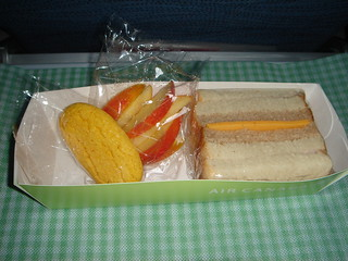 Air Canada Economy Class Breakfast Snack Box | by Archangeli