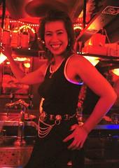 Amsterdam De Wallen Red Light District Thai Bar July 1995 001
