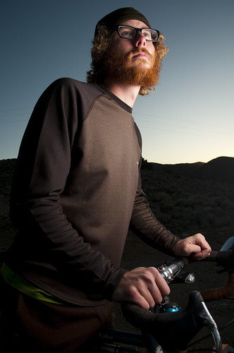 lighting trip travel sunset patagonia mountains bicycle hair beard photography glasses nikon cross ryan nevada sac sean curly backcountry mustache nikkor 1870mm dayton d300 strobist aroundtheus mbd10 lp120 lumopro