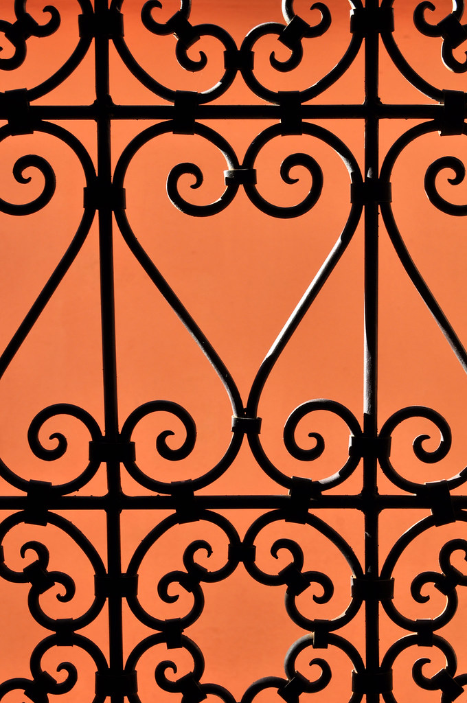 Moroccan Wrought Iron Window Grills 2