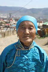 Elderly ger dweller in Mongolia   by East Asia & Pacific on the rise - Blog