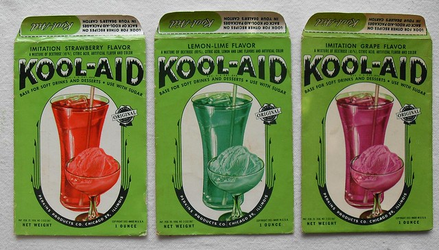 KOOL AID PACKETS 1950s