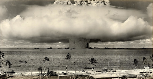 1946 ... Baker Shot- Bikini Atoll 'Operation-Crossroads' | by x-ray delta one