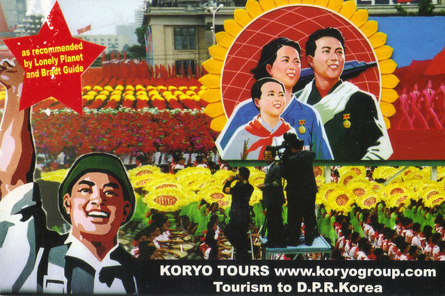 North Korea Tourism Ad Postcard