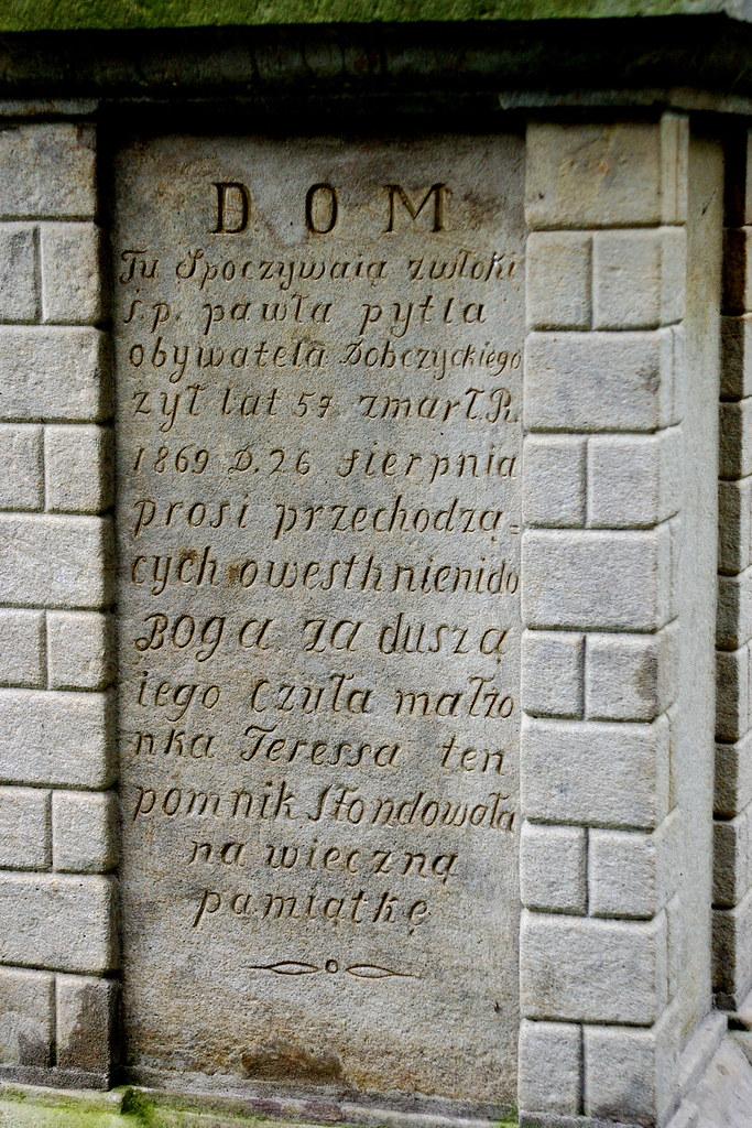 Nagrobek obywatela / Tombstone of a citizen