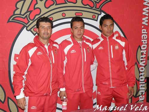 PB130185 Conferencia de prensa del Deportivo Toluca previo a su encuentro ante su similar Puebla FC por LAE Manuel Vela