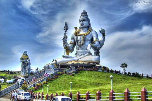 Shiva-Murudeshwar: HDR | by varun suresh