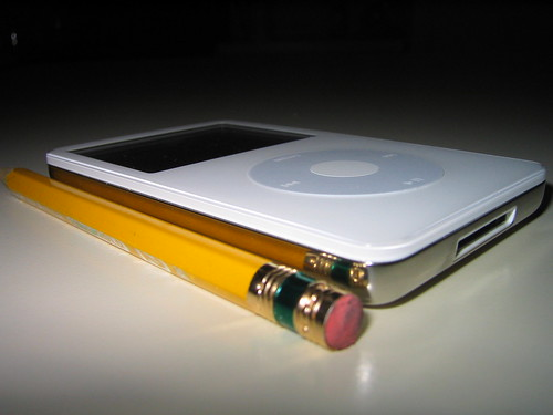 Pencil versus iPodVideo! | by DoctorButtsMD