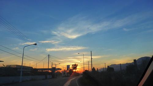 169ratio panasoniclumixdmctz40 sky clouds outdoor ουρανοσ συννεφα ανατοληηλιου sunrise greece aigio