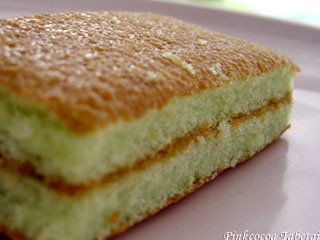 Apollo Pandan Layer Cake