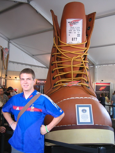 Worlds Largest Boot and Me
