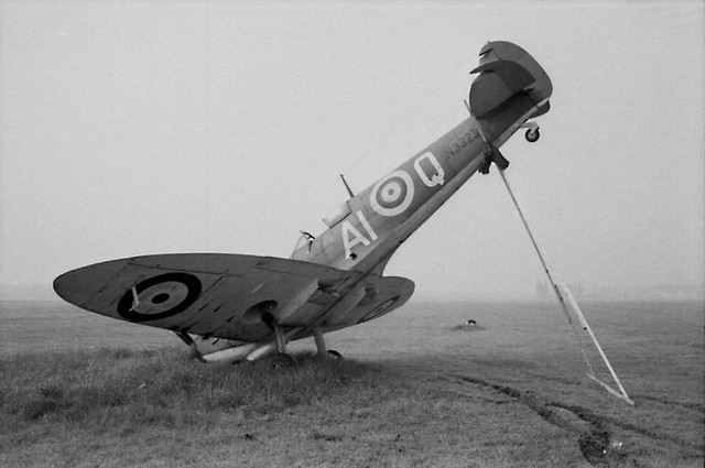 oops ground looped spit NW