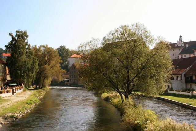 river Moldau (Vltava)