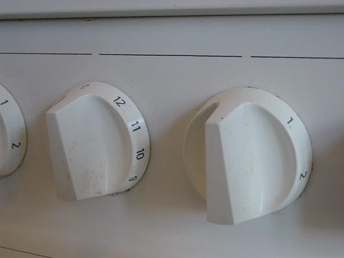 Stove controls