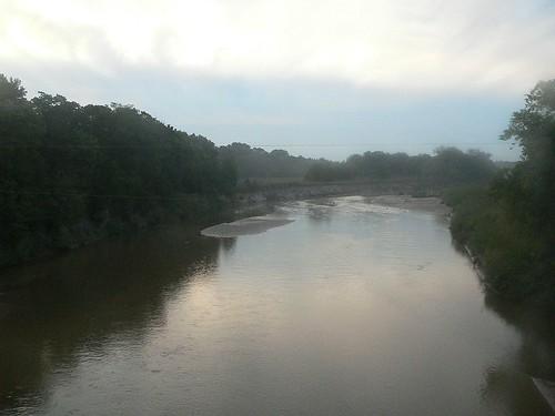northcanadian river morning choctaw oklahoma geolat355183 geolon972307 geotagged