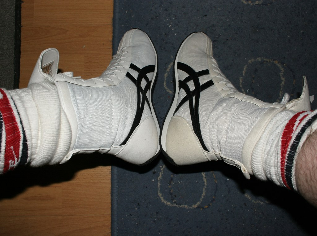 Asics boxing boots | Chris | Flickr