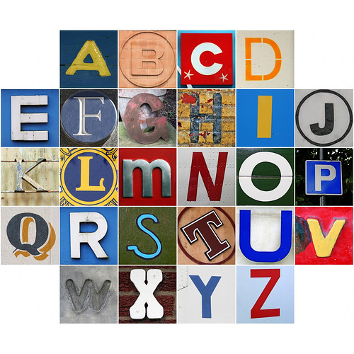Alphabet 02 | by Leo Reynolds
