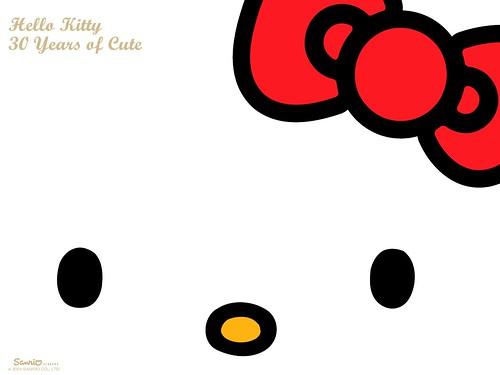 Sanrio S Hello Kitty 30th Anniversary Desktop Wallpaper Flickr