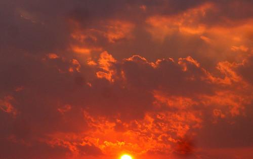 Orange Sunset 2