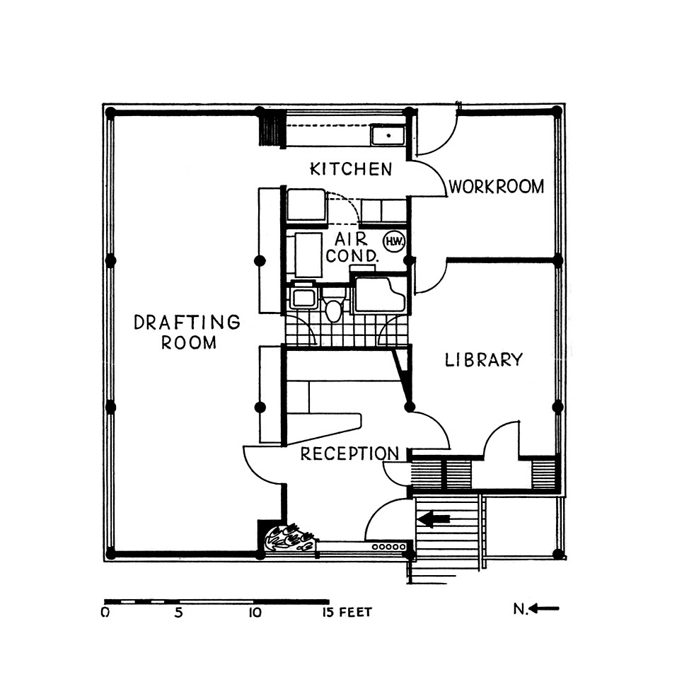 Armstrong Architecture Office Floor Plan The Floor Plan Flickr