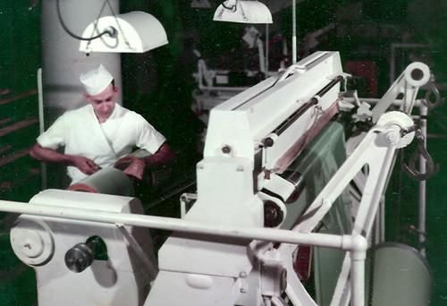 My father making film at Kodak | by Catskills Grrl