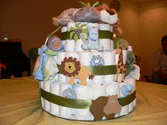 Diaper cake | by ewen and donabel