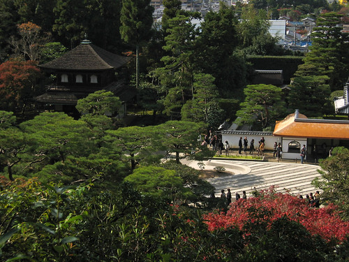 Ginkaku-ji 銀閣 viewed from the observatory | by vfowler