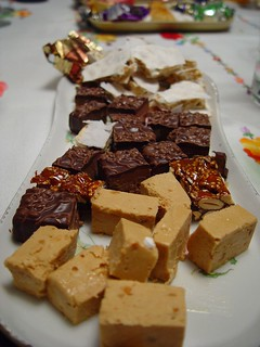 "Spain: Spanish nougat (""turrón"", typical Christmas dessert). 