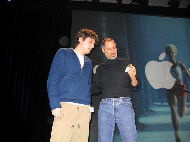John Mayor and Steve Jobs