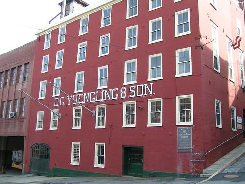 yuengling brewery pottsville pennsylvania beer industrial