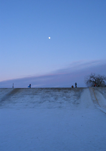 blue winter light snow canon mood dusk powershot northdakota sledding fargo 4seasons interestingness291 i500
