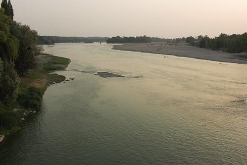 La Loire au couchant (Amboise et l'Ile d'or)