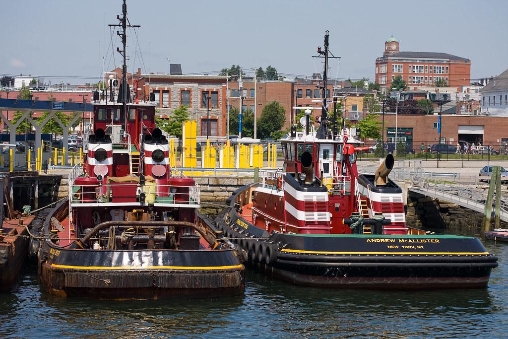 Andrew McAllister and Iona McAllister tug boats, Portland