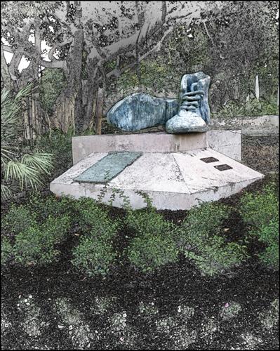 Sculptured Boots