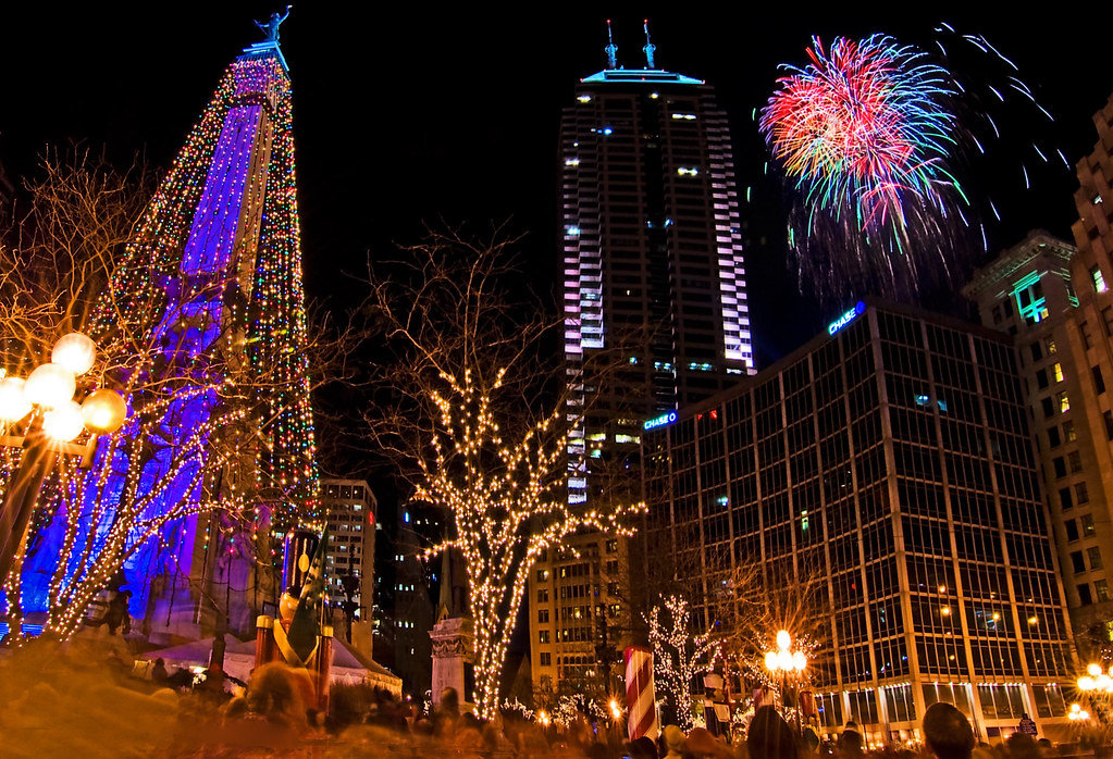 Christmas In Indianapolis.Let Christmas Commence In Indianapolis Downtown Indianapo