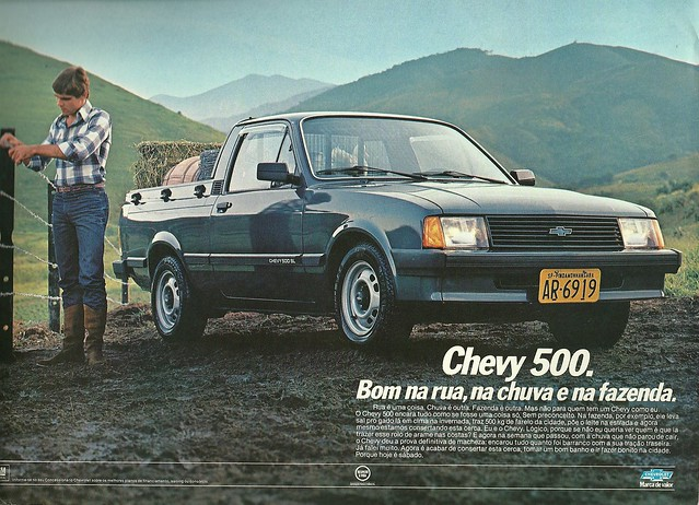 1985 Chevette Pickup from Brazil